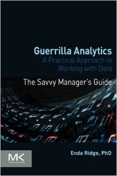 Guerrilla Analytics book cover